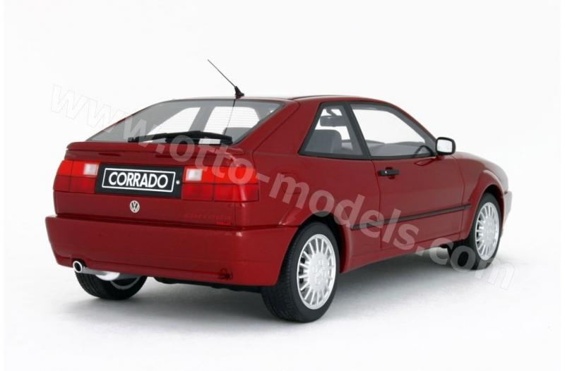 VW Volkswagen Corrado Coupe Rot G60 1988-1995 Nr 103 1//18 Otto Modell Auto mit o