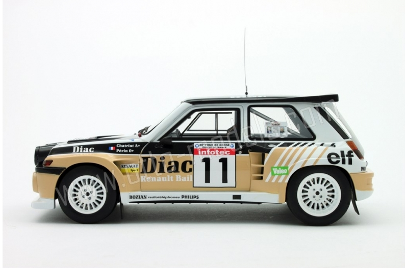 ot019 renault 5 maxi turbo tour de corse 1986 ottomobile. Black Bedroom Furniture Sets. Home Design Ideas