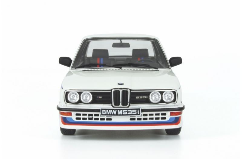 BMW e12 M535i alpin weiss Modellauto Resine OT139 Otto 1:18