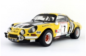 Alpine A110 Groupe 4 Tour de Corse 1975