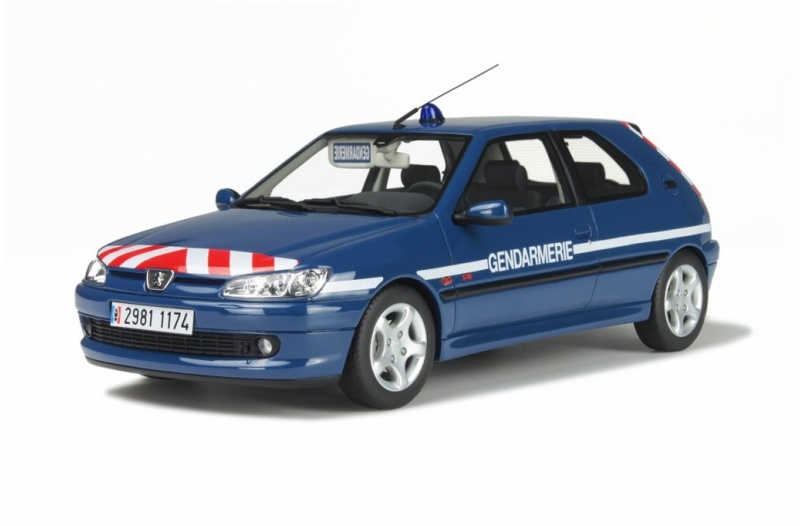 ot624 peugeot 306 gendarmerie bri ottomobile. Black Bedroom Furniture Sets. Home Design Ideas