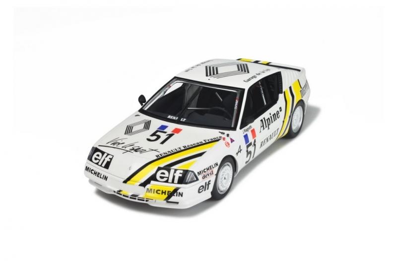 Ottomobile ot185 1//18 Alpine GTA Europe Cup
