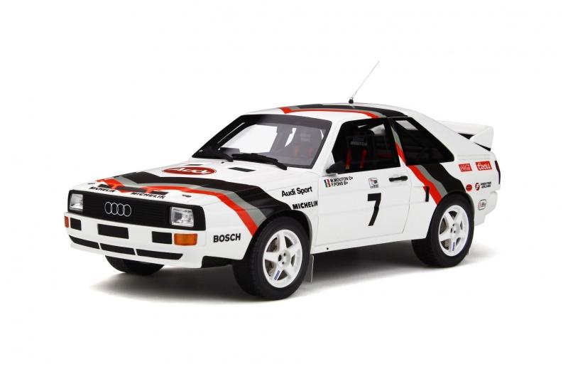 Auto Competizione Modellino Spark Model Die Cast per AUDI QUATTRO S1 N.1 WINNER PIKES PEAK HILL CLIMB 1985 M.MOUTON 1:43