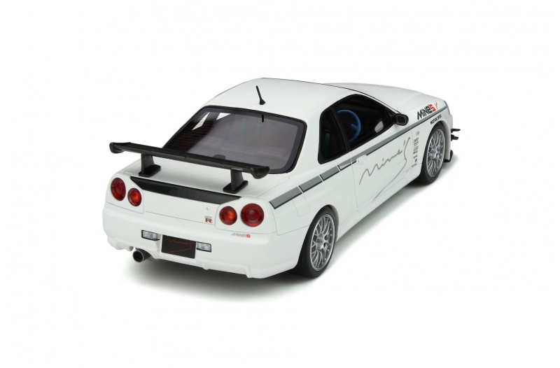 OT760 Nissan Skyline GT-R (R34) Mine'S - Ottomobile