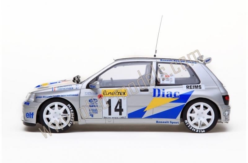 Renault Clio Maxi Rallye Monte Carlo