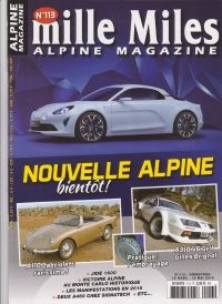 MILLE MILES ALPINE MAGAZINE N°113 MARCH MAY