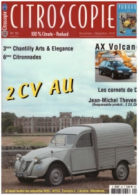 CITROSCOPIE N°56 NOVEMBER DECEMBER 2016